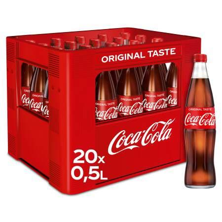 Getränkelieferservice Hamburg Coca Cola 2005 Ltr Glas