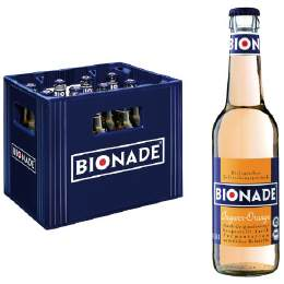 Bionade Ingwer Orange 12/0,33 Ltr. MEHRWEG