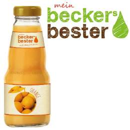 Becker Orange 12/0,2 Ltr. MEHRWEG