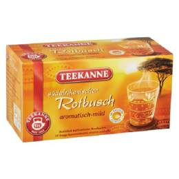 Teekanne Tee Spanische Orange