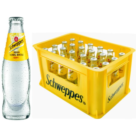 Getränkelieferservice Hamburg - Schweppes Tonic 24/0,2 Ltr.