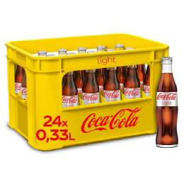 Coca Cola light 20/0,5 Ltr. Glas
